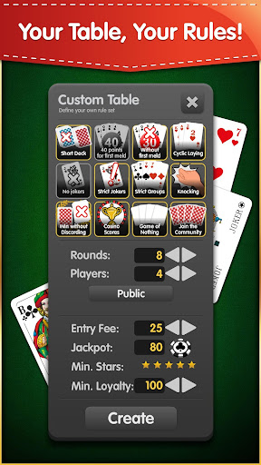 Rummy (Free, no Ads) 1.7.0 screenshots 4