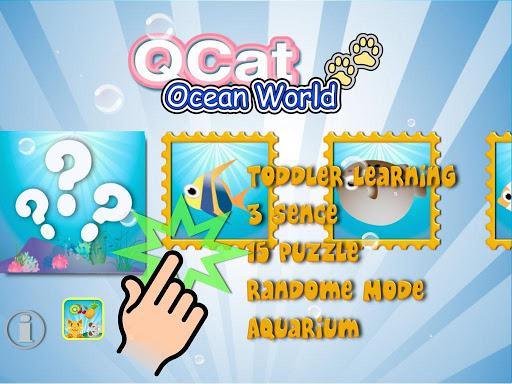 QCat - Ocean world puzzle 2.5.4 screenshots 8