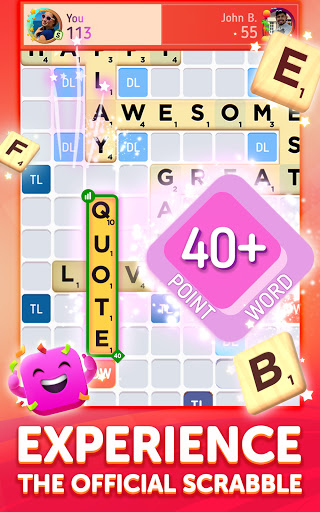 Scrabbleu00ae GO - New Word Game Apkfinish screenshots 7