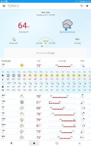 Foreca Weather 4.24.3 Screenshots 9