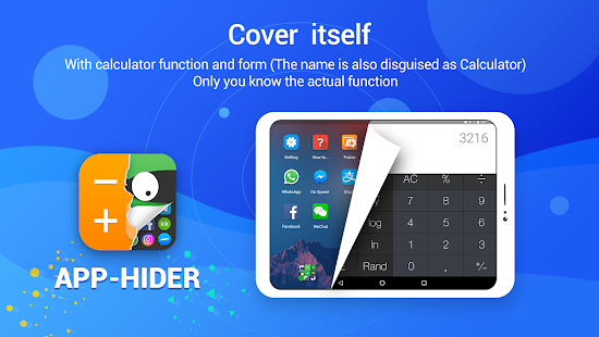 App Hider- Hide Apps Hide Photos Multiple Accounts Screenshot