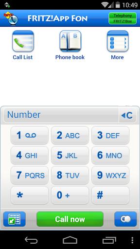 FRITZ!App Fon 1.90.10 screenshots 1