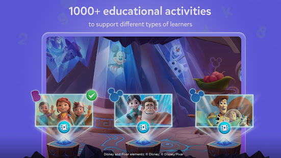 BYJU'S Learning App featuring Disney