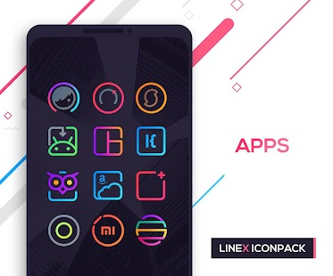 LineX Icon Pack Screenshot