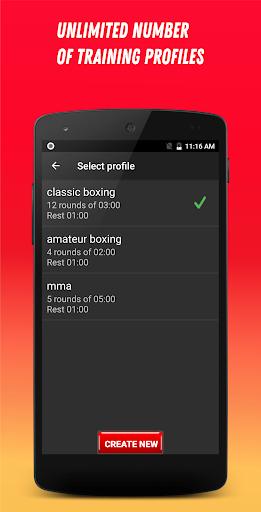 Boxing Interval Timer 3.1.7 Screenshots 6
