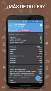 Fuel Manager Pro (Consumo) Screenshot