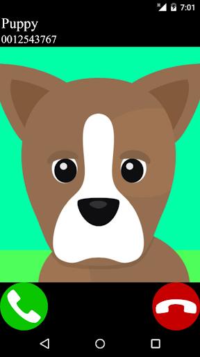 fake call puppy game 2  apktcs 1