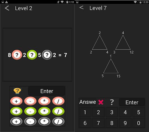 Math games - Mind games 2 screenshots 1