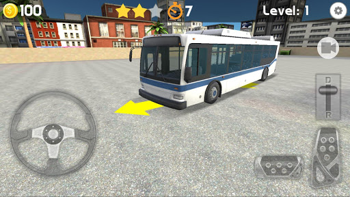 Bus Parking 3D 4.0 screenshots 1