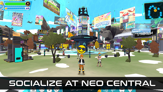 NEO 2045: Open-World MMO 1.54 APK + Mod (Unlimited money) para Android