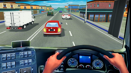 In Truck Highway Rush Racing Free Offline Games apkpoly screenshots 4