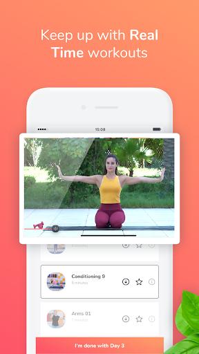 GymNadz - Women's Fitness App  screenshots 3