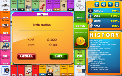 CrazyPoly - Business Dice Game  Screenshots 2
