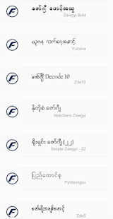 TTA RealOp Unicode Myanmar Font 1.3 Screenshots 4