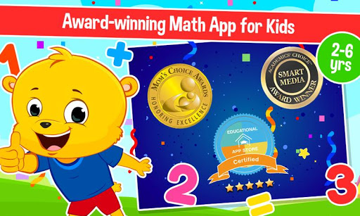 Learn 123 Numbers Counting for Kids Math Games  screenshots 1