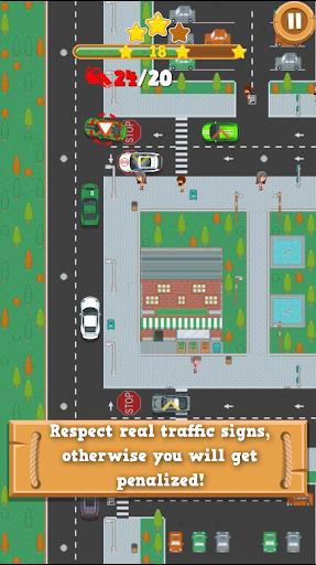 traffic control: realistic traffic simulator screenshot 2