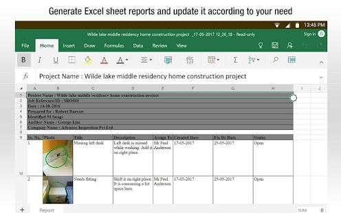 SnagBricks - Site Auditing, Snagging & Punch List Screenshot