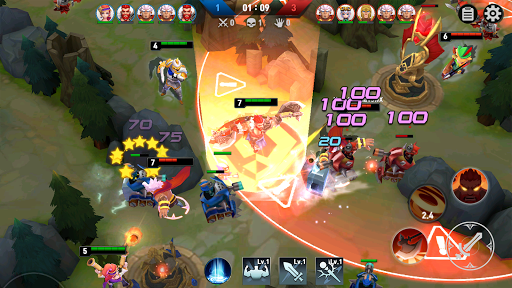 Masters Battle League 5v5 : Legend MOBA PvPTrainer screenshots 5
