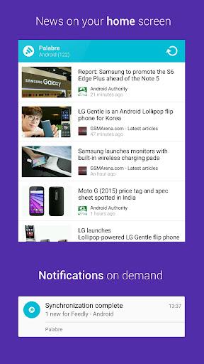 Palabre Feedly RSS Reader News 3.2.4 Screenshots 5