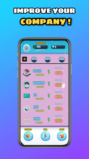 Money Machine Idle : Tap and Make Money Game 8 screenshots 6