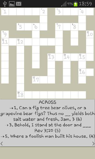 Bible Crossword 5.6 screenshots 4