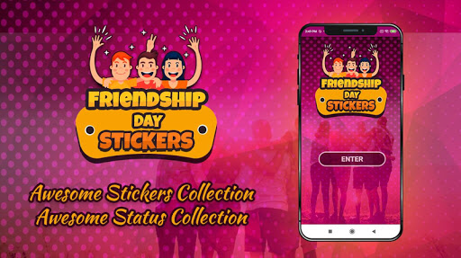 friendship day sticker for whatsapp screenshot 1