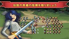 Knights and Glory - Tactical Battle Simulatorのおすすめ画像1