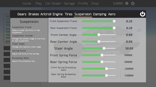 Tuner Z - Car Tuning and Racing Simulator modavailable screenshots 13