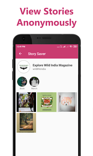 Story Saver for Instagram - Save HD Images, Videos  screenshots 3