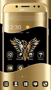Gold Luxury Eagle Theme For Pc – Free Download And Install On Windows, Linux, Mac 1