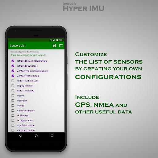 HyperIMU android2mod screenshots 4