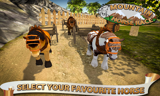 ultimate horse mountain race screenshot 1