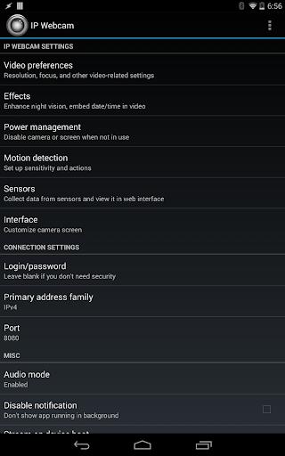 IP Webcam  Screenshots 6