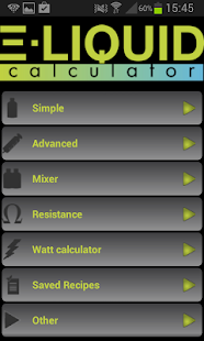 E-Liquid Calculator - Vape Tool