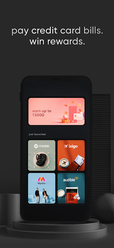 CRED credit card bills, rewards, free credit score  screenshots 1