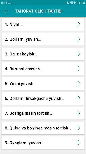 Namoz o'qishni o'rganish | Batafsil qo'llanma  Screenshots 2