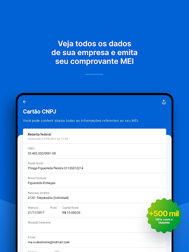 Mais MEI: Abrir MEI, guias DAS android2mod screenshots 22