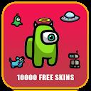 Free skin Among Us tips & Mod menu