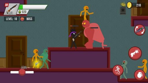 Stickman vs Zombies screenshots 4