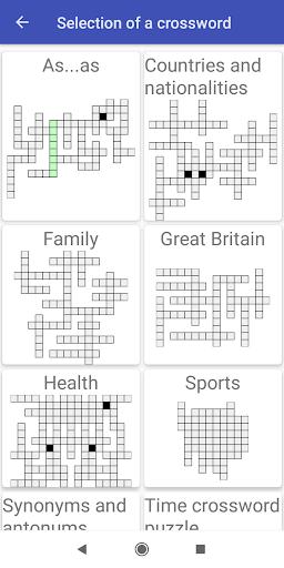 family crosswords-7 screenshot 1