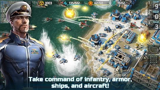 Art of War 3: PvP RTS modern warfare strategy game 1.0.87 Apk + Mod 2