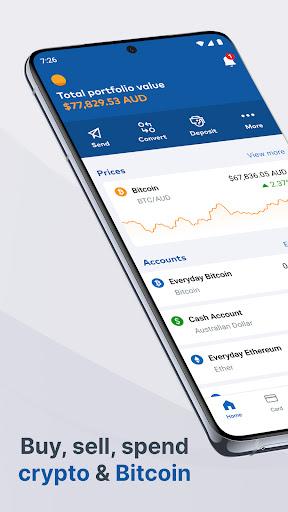 CoinJar: Buy Bitcoin Instantly  screenshots 1