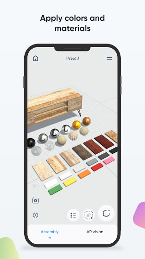 Moblo - 3D furniture drawing and augmented reality  Screenshots 4