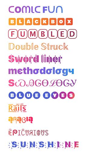 Cool Fonts for Instagram - Stylish Text Fancy Font 4.9 Screenshots 7