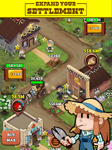Idle Frontier: Tap Town Tycoon Mod Apk (Free Upgrade) 9