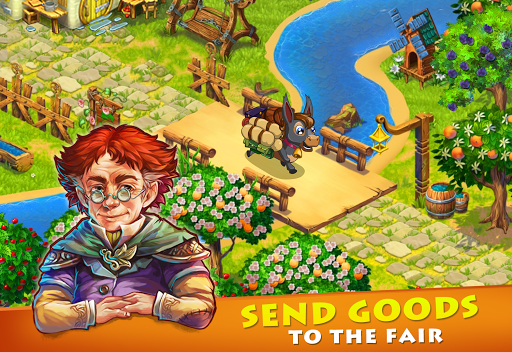 Farmdale: farming games & township with villagers 6.0.1 Screenshots 16