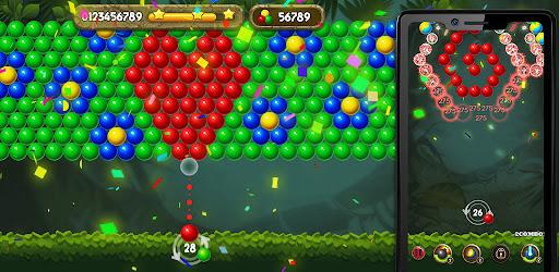 Bubble Shooter: Jungle Bubble Pop Free  screenshots 1