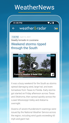 Weather & Radar USA - Storm alerts  Screenshots 6