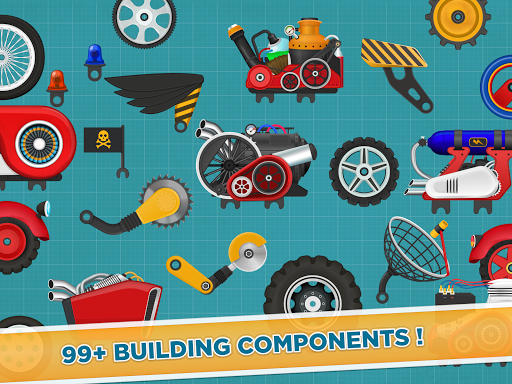 Car Builder and Racing Game for Kids 1.3 Screenshots 11