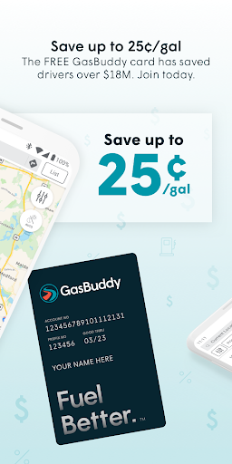 GasBuddy: Find and Pay for Cheap Gas and Fuel screenshots 2